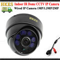 HKES High Resolution 1920*1080P IP Camera 2MP Indoor IR Dome Security Camera 720P 960P
