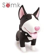 Semk Cute Dog Spargris, Bulldog PVC Vinyl Doll 1pc Torri är hans namn