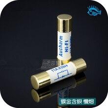 5PCS HIFI silver fuse 5x20 6x32 500MA 1A 2A 3A 3.15A 4A 5A 6.3A 8A 10A 15A audio tube
