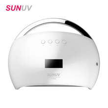 Nail Dryer 48W UV Lamp SUN6 UV LED Lamp for nails LED Dryer Polish Machine for Curing UV Gel Polish PK SUNONE Nail Art Tools