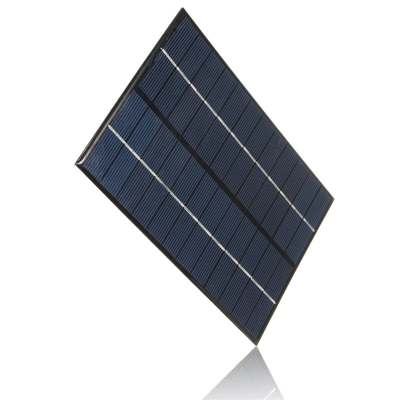 12V/18V 4.2W Polycrystalline Silicon Solar Panel Portable Solar Cells Charger DIY Solar Module System 200 *130*3 mm ...