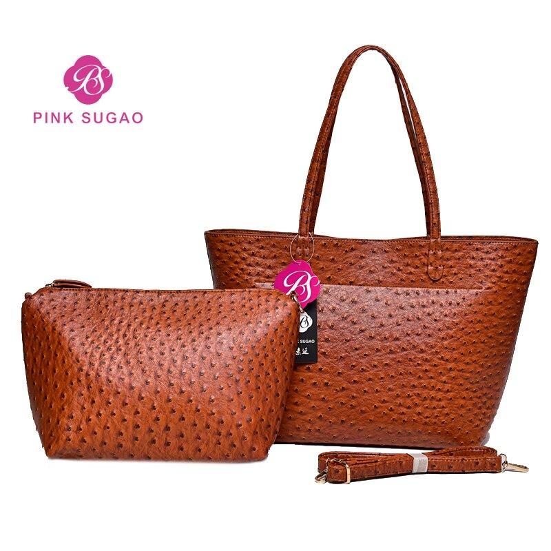 Pinksugao bolsos de lujo Bolsos De Mujer bolso de diseñador para chica y bolsos de monedero para mujer 2019 bolso de hombro compuesto para viaje-in Bolsos de hombro from Maletas y bolsas    1