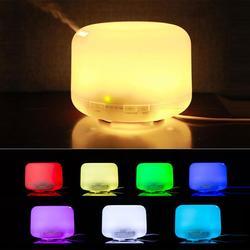 300 ML/500 ML ultradźwiękowy nawilżacz powietrza zapachowy olejek eteryczny dyfuzor do domu nawilżacz Mist Fogger ekspres do LED lampka nocna domu w Nawilżacze powietrza od AGD na