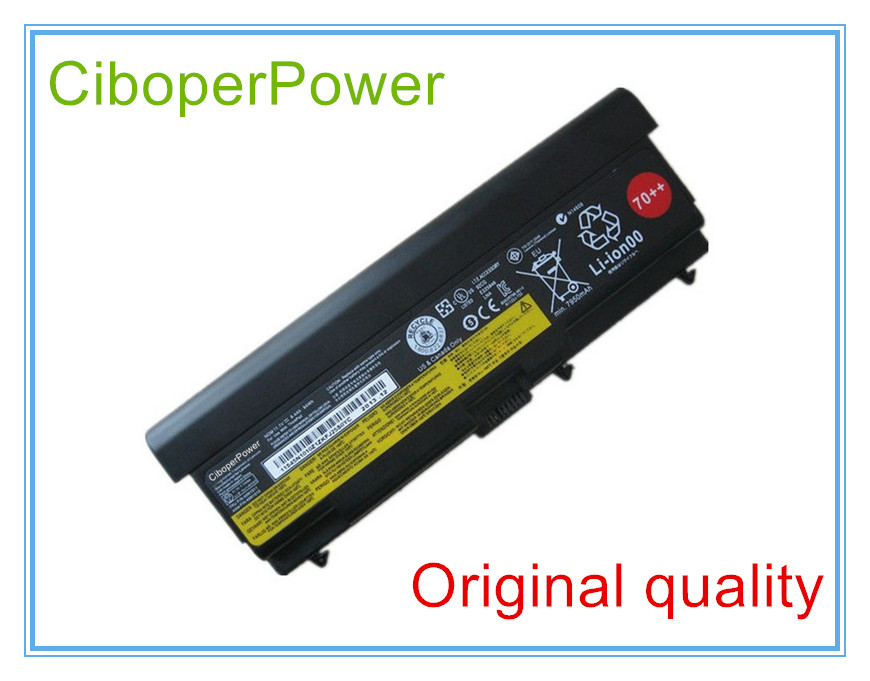 94WH Original Extended <font><b>Battery</b></font> For T430 W530 W510 T510 T530 W520 SL410 T410 T420 L530 <font><b>L430</b></font> 45N1017 45N1016 9CELL image