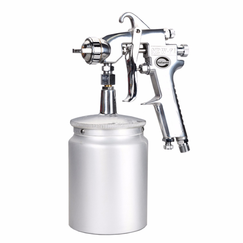 цена на NEW71-S  High Atomization Professional HVLP Siphon Feed Air Spray Gun Mini Air Paint Spray Guns Airbrush