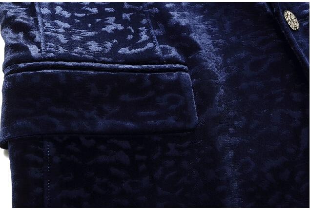 արական կապույտ բաճկոն վերարկու - Տղամարդկանց հագուստ - Լուսանկար 4
