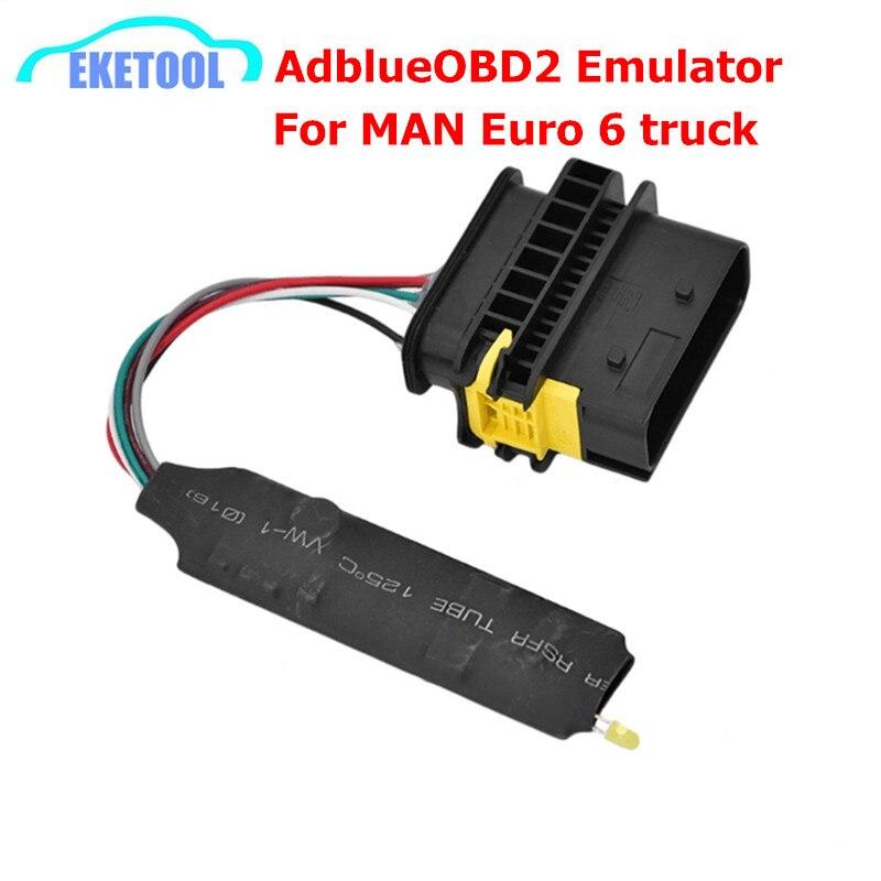 2018 Новые поступления AdblueOBD2 эмулятор MAN Euro6 Грузовик Дизель AdblueOBD2 Man Truck Adblue OBD2 Euro6 человек диагностического сканера