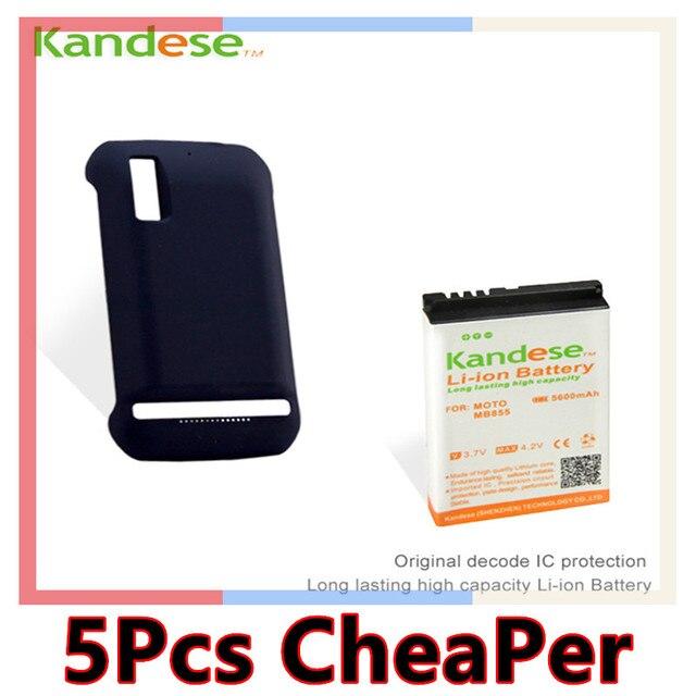 1 шт./лот Kandese Марка Продлить Высокий Потенциал Большой 5600 мАч Батарея + задняя крышка Для Motorola Photon 4G Mb855 Мобильный Телефон питания