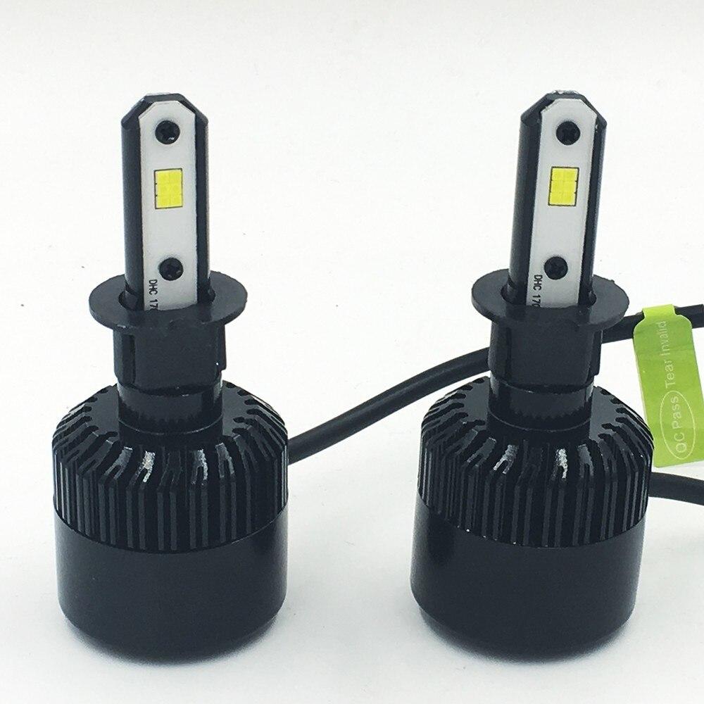 2X S2 CSP автомобильная светодиодная лампа H3 72 Вт 6000 K 8000LM Автомобильный свет Nebbia автомобильный Стайлинг