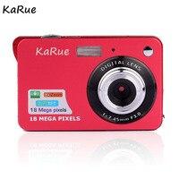 KaRue Amkov Digital Camera 18 Megapixel Mini Portable HD Shooting Camera Pocket Digital Camera Fotografica Digital C