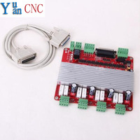 CNC 4 Axis TB6560 3 5A Stepper Motor Driver Controller Board Quality Assurance For Mach3 Factory