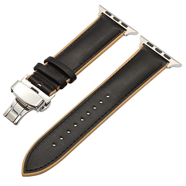 франция пос из естественной кожи реванш для iwatch яблоко часы 38 мм 42 мм серии 1 2 3 двойной цвет группа baba Прага реванш