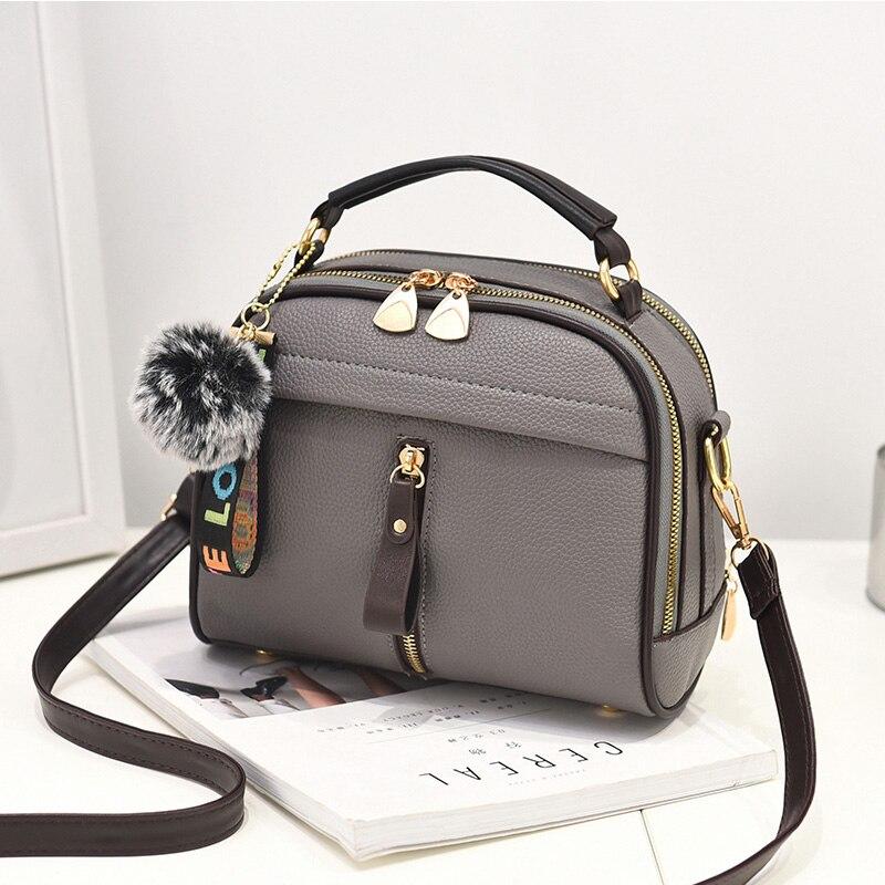 Neue Umhängetaschen Für Frauen 2018 Handtasche Schulter Tasche Weibliche Leder Klappe Günstige Frauen Messenger Taschen Kleine Bolsa Feminina