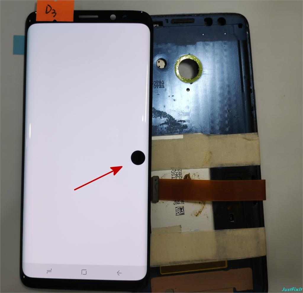 NO D3 For Samsung Galaxy S9 G960 G960f Defect Lcd Display Touch Screen Digitizer Original 5