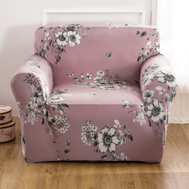 Removable Flowers Couch Sofa Covers For Living Room Multi Size L Shape Sofa  Slipcovers Universal