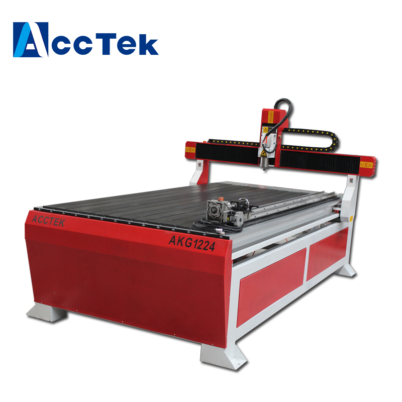 Discount Price Advertising Cnc Router With Rotary Axis/ 3d Woodworking Machinery 1212 1224