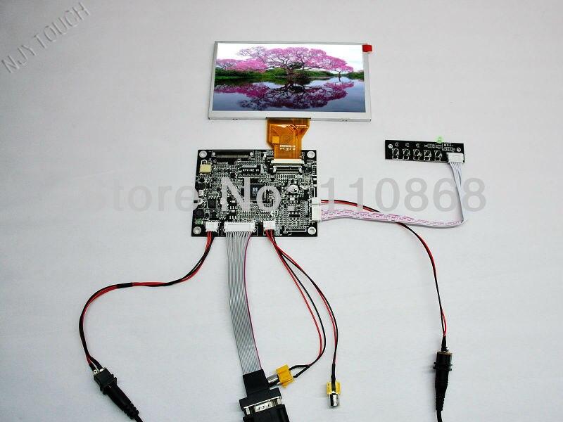 ФОТО VGA+2AV+Reversing Controller Board+6.5
