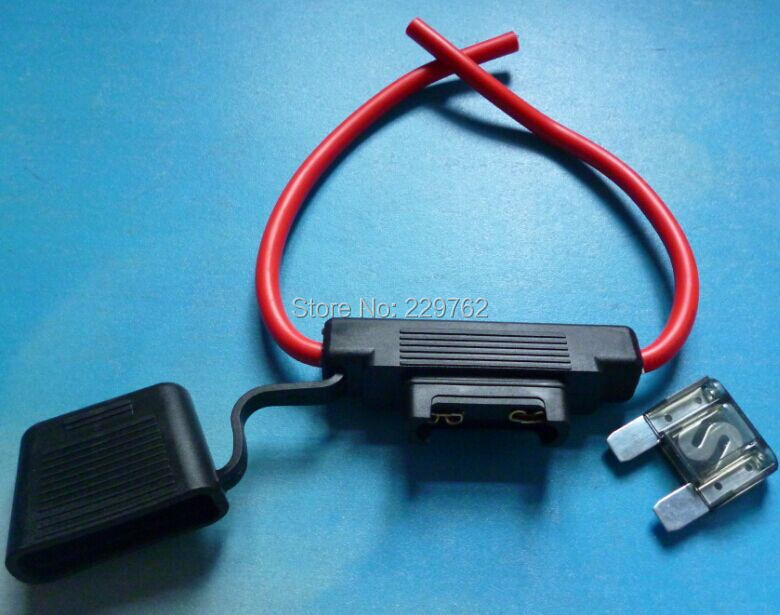 popular maxi fuse holders buy cheap maxi fuse holders lots from shipping 1pcs lot 8awg wire truck car in line waterproof auto fuse holder