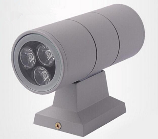 Hot 6W/12W/18W/24W/36W Led Outdoor Wall Light Led Outdoor Wall Lamp UP and Down Garden Street Waterproof IP65 AC85-265V CE&RoHS dc12v 24v 36w led street light outdoor waterproof ip65 road light 36w led street lamp for dc power supply system
