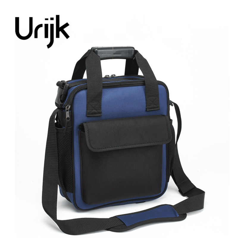 Urijk 600D Oxford 4 Kinds Repairing Tools Bag Maintenance Bag Electrical Wood Metal Work Small Medium Large Reflective Handle  td tool bag leather repairing tools packaging maintenance kit household storage bag carry portable