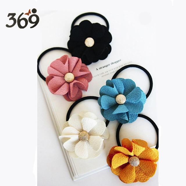 Supply 2013 the latest fashion Baby Girl Kid Children flower elastic hair bands