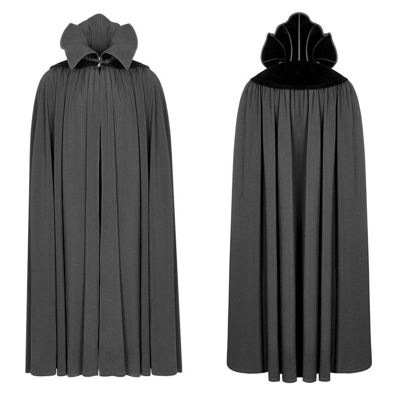 Black Kei Goth Rollkragen Gothic Herren Rave Lange Schwarz Winter Nightcrawler Visuelle Vampire Mantel Cosplay Punk Zählen Kleidung Party xwTAZx7