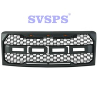 High Quality ABS Front Middle Grille Raptor Style With LED For Ford F 150 2009 2014 Years
