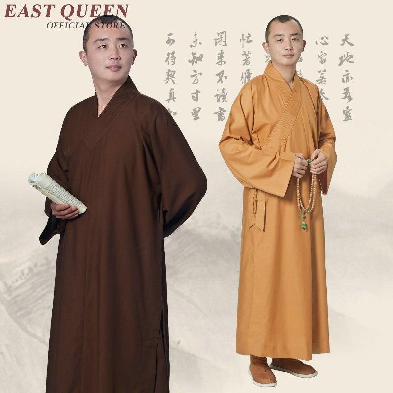 Buddhist monk robes buddhist monk clothing men new design buddhist monk costume KK1750 H