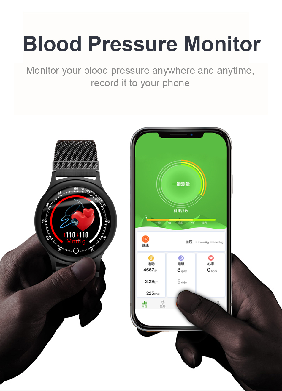 Q28 Smart Watch IP67 Waterproof Wearable Device Bluetooth Pedometer Heart Rate Monitor Men Fashion SmartWatch For AndroidIOS (6)