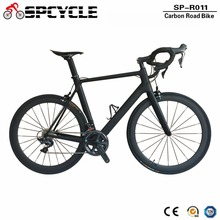 Spcycle 2018 New Carbon Road Bike Complete Road Bicycle With 50mm Carbon Wheels Ultegra 5800 R8000 9000 Groupset Available cheap Male Carbon Fibre Aluminum Alloy Other 165-195cm 7 5kg Double V Brake 0 1 m3 Bead Pedal 100kg 13kg Resistance Rubber (Medium Gear Non-damping)