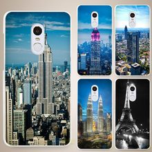 Phone Cases with Fab Fabulous City Buildings for Xiaomi Mi Redmi Note 3, 3S, 4, 4A, 4C, 4S, 5, 5S Pro