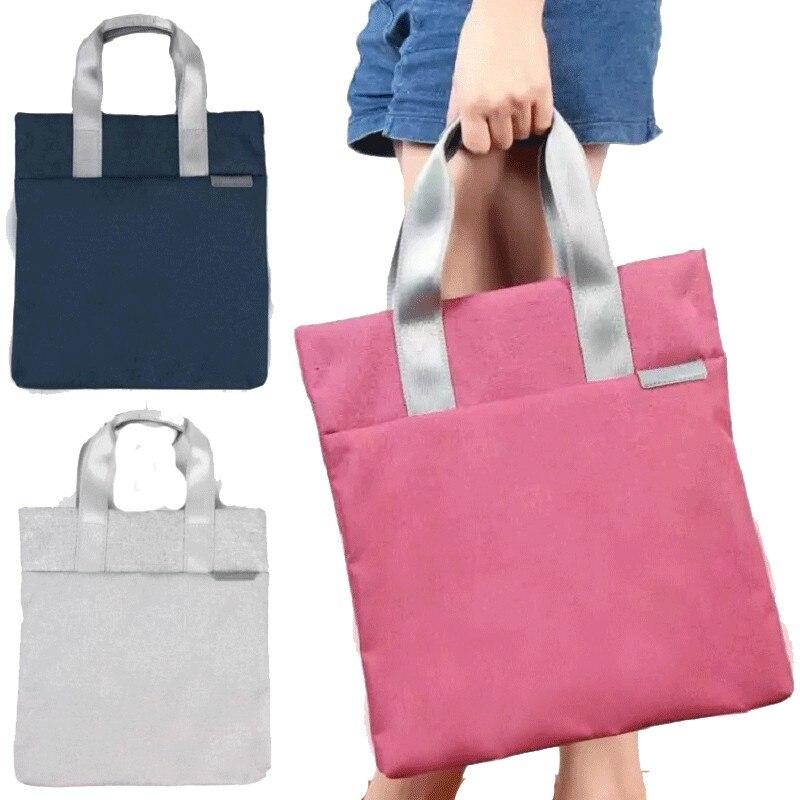 Briefcases Messenger-Bag Waterproof Handbag File Canvas Office Women A4 For Lightweight