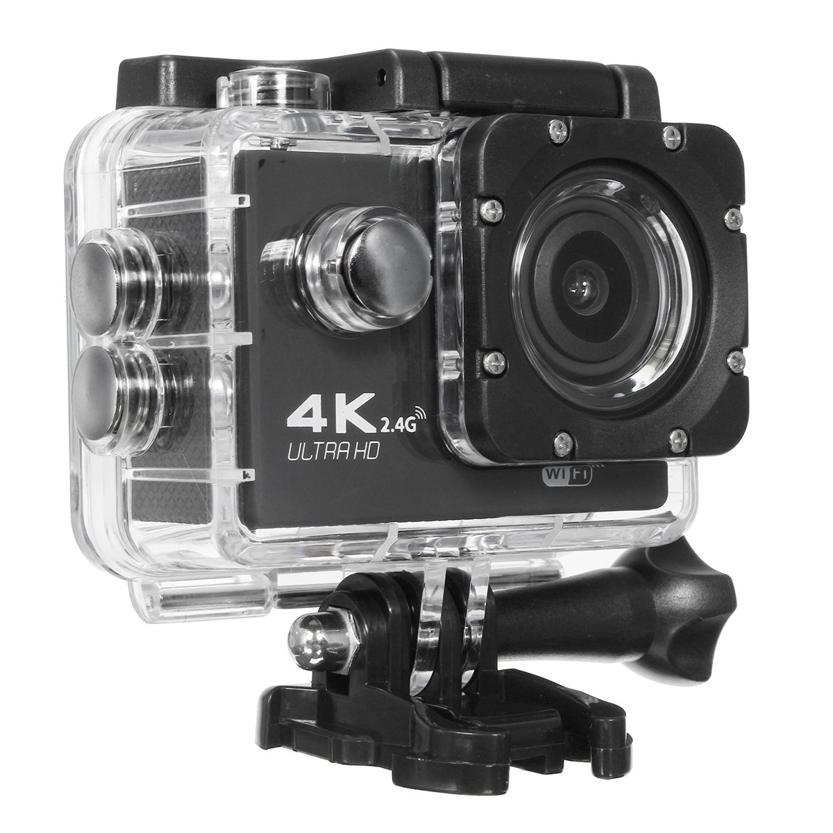 F60R Ultra HD 4K /30fps WiFi Action Camera 2.0 170D go Helmet Cam pro underwater waterproof Multi Color Sport Consumer Camera action camera h3r h3 ultra hd 4k 170d lens go dual screen camera pro waterproof 30m remote control sport camera