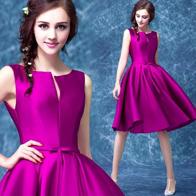 0c07a9159939b Plus Size Purple Cocktail Dress – Fashion dresses