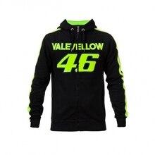 Valentino Rossi VR 46 Moto GP Hoodie To Keep Warm Winter Sports Jacket Men's Zip-up Hoody Motorcycle Casual Coat Hoodies