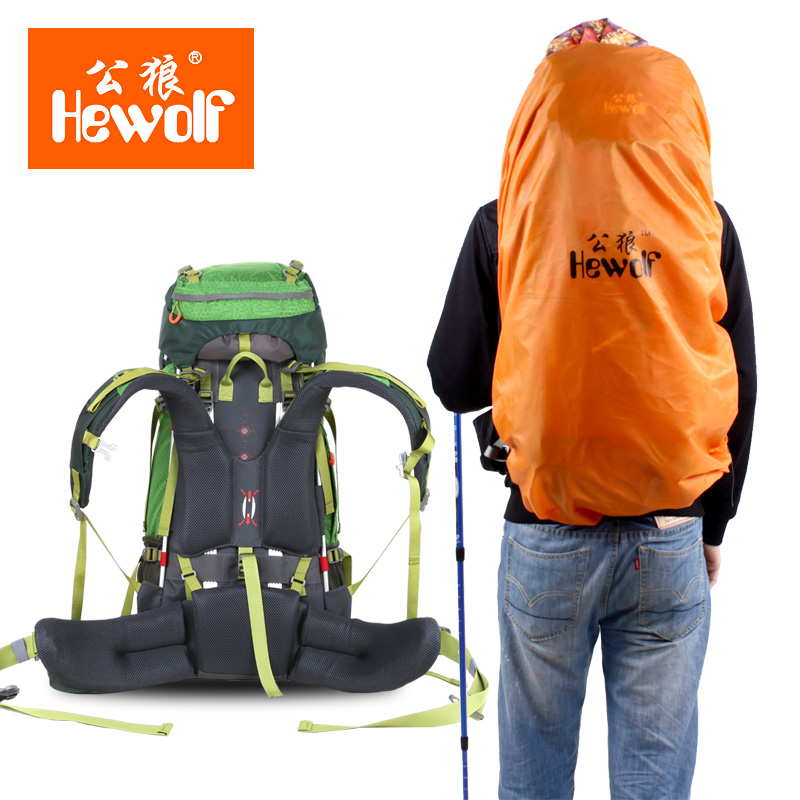 Outdoor Climbing bag Waterproof Mountaineering Bag Hiking Backpack Camping Climbing Bag Sport Backpack Outdoor bags 65L strong oxygen gazelle 26l backpack outdoor light breathable mountaineering bag double shoulder sport bag