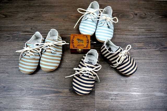 Baby moccasins Leather Strips Abrazine Calfskin girl boy shoes Bebe shoes Strips Prewalker Baby Firstwalker freeshipping