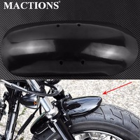 Motorcycle Short Front Fender Mudguard Fairing Black For Harley Sportster Forty Eight 48 XL1200X XL1200 2010 12 13 14 15 16 2017