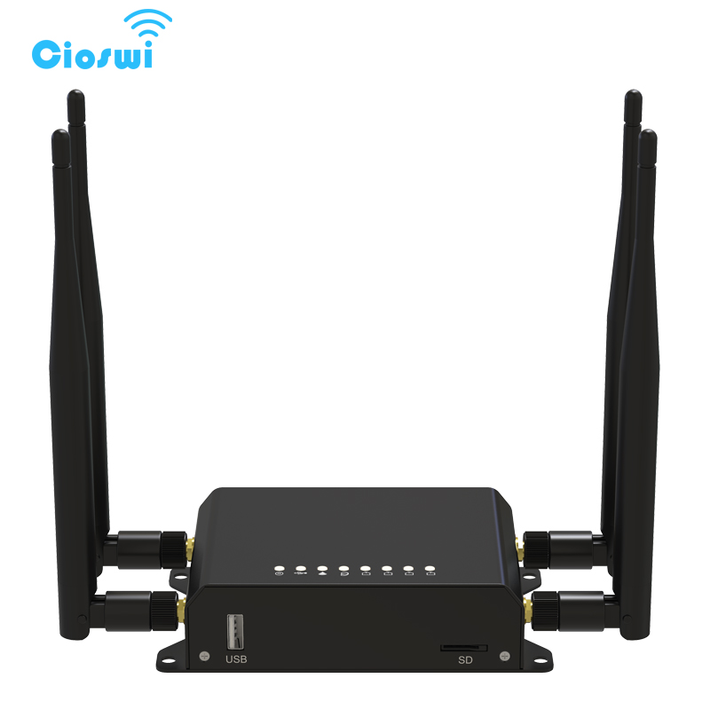 128M OpenWrt 3G/4G SIM Car Wireless Router 300Mbps wifi Router Long Range Wifi Repeater 4 Antenna Strong Wifi Signal kuwfi 3g 4g sim card slot wifi router openwrt 300mbps high power wireless router repeater with 4 5dbi antenna