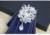 Nuevo Diseño Inglaterra Uniforme de La Boda El Matrimonio Flor Collar Desgaste Formal de Los Hombres de Los Padrinos de boda de Diamantes Arco Tie Boda del Novio Corbata