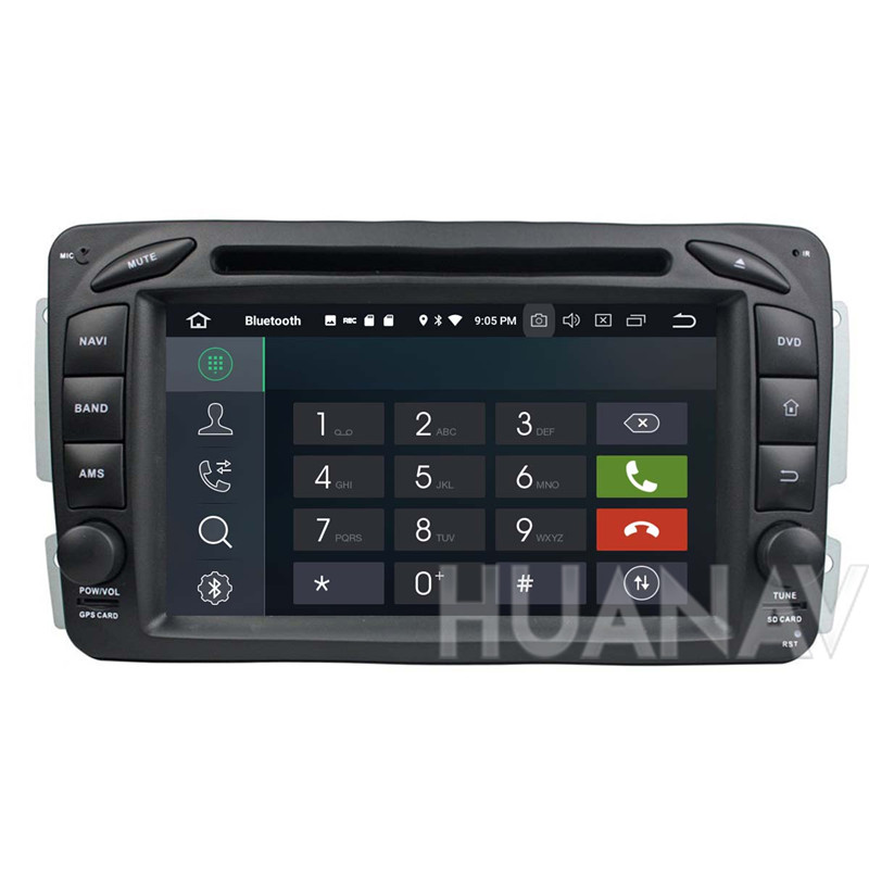 Android 8.0 <font><b>Car</b></font> GPS Navigation DVD Player For <font><b>ML</b></font> <font><b>W163</b></font>/CLK W2092002-2005 C-Class W203 SLK <font><b>radio</b></font> player multimedia Stereo recorde image