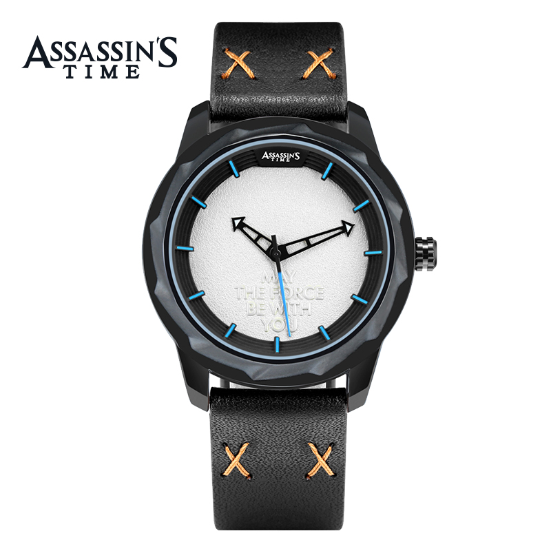 Assassin's Time herrklockor Top Brand Luxury Vattentät Quartz Watch - Herrklockor