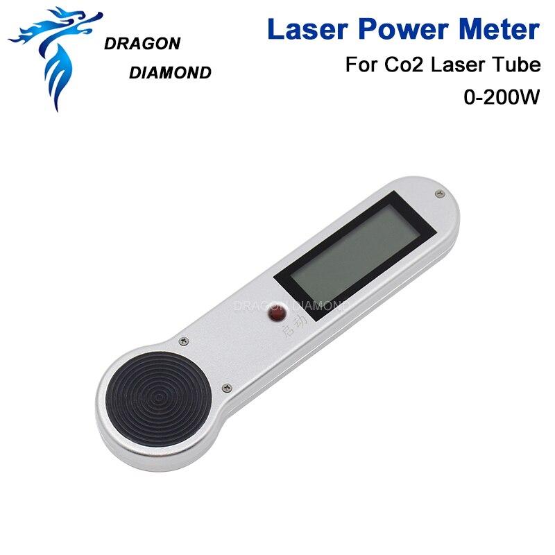 Ручной лазерный измеритель мощности для лазерной трубки DRAGON DIAMOND, HLP 200 для лазерного гравера и резки 0 200 Вт