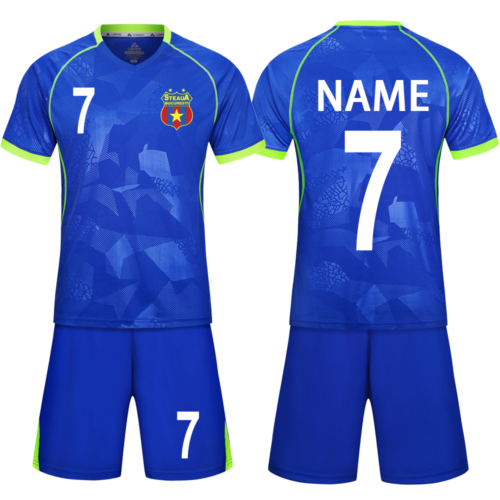 the best attitude 328e1 e0a65 US $11.19 26% OFF|18 Children Football Jerseys Men Boys Soccer Clothes Sets  Short Sleeve Kids Football Uniforms Adult Kids Soccer Tracksuit Jersey-in  ...