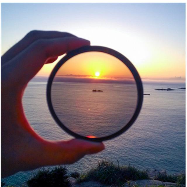 Filtr kamery filtr polaryzacyjny 49mm/52mm/55mm/ 58/62/ 67/72/ 77/ 82mm CPL filtr do aparatów Canon Nikon obiektyw lustrzanki cyfrowej