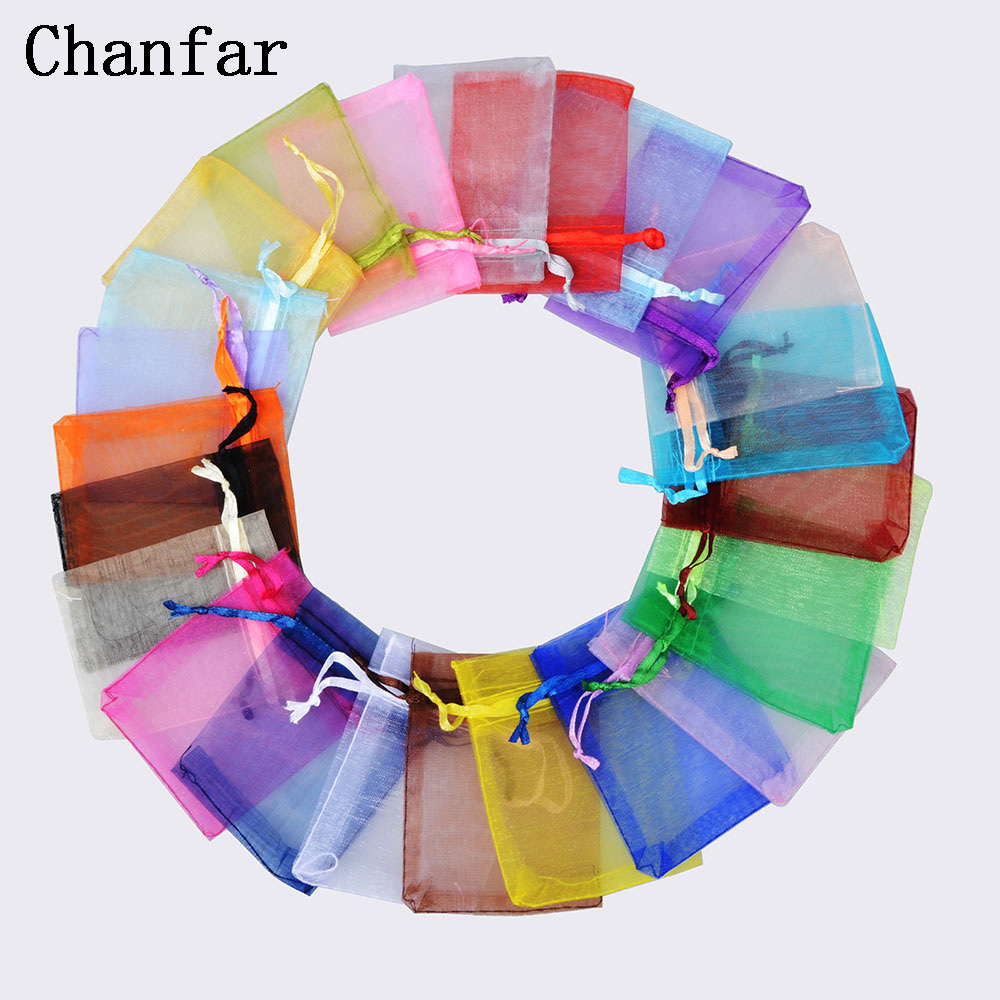 Jewelry & Access. ...  ... 32361586750 ... 4 ... 50pcs 7x9 9x12 10x15 13x18CM Organza Bags Jewelry Packaging Bags Wedding Party Decoration Drawable Bags Gift Pouches 24 colors ...