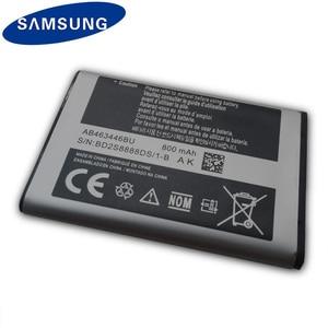 Image 3 - Samsung Original Battery AB463446BU AB553446BU For Samsung C3300K X208 B189 B309 GT C3520 E1228 GT E2530 E339 GT E2330 800mAh