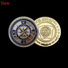 Poker Card Guard Casino Coin-----PAIR OF KINGS Coin.5pcs/lot poker card-guard gold coin free shipping