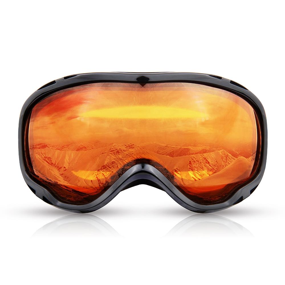 Men Snow Ski Goggles Sports Snowboarding Glasses Anti-fog UV400 Double Lens Skiing Eyewear Night Women Male Climbing Protection