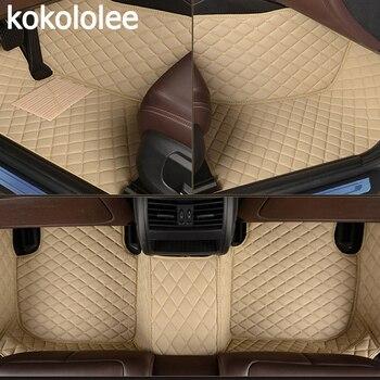 kokololee Custom car floor mats for Lexus All Models ES IS LS RX NX GX GTH GS LX car styling car accessories